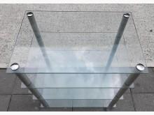 [8成新] 玻璃收納櫃收納櫃有輕微破損