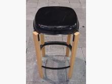 [8成新] 鐵製木腳椅餐椅有輕微破損