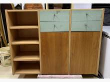 [8成新] 三合二手物流(精美五呎收納櫃)收納櫃有輕微破損