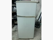 [7成新及以下] [中古]歌林137L 小雙門冰箱冰箱有明顯破損