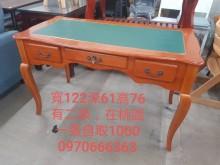 [9成新] 毅昌二手家具~4尺法式書桌書桌/椅無破損有使用痕跡