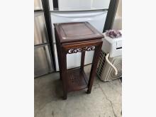 [8成新] 毅昌二手家具~實木花架/電話架其它桌椅有輕微破損