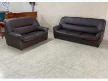 [95成新] 2+3皮沙發/客廳沙發/沙發椅多件沙發組近乎全新