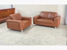 [95成新] 牛皮沙發/1+2牛皮沙發多件沙發組近乎全新