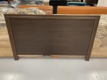[9成新] B90520*胡桃雙人床頭片床頭櫃無破損有使用痕跡