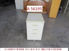 [9成新] A56195 活動櫃 桌下櫃辦公櫥櫃無破損有使用痕跡