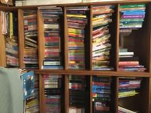 [9成新] 詩肯柚木書櫃其它家具無破損有使用痕跡