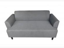 [8成新] A9277*灰色2人座布沙發*雙人沙發有輕微破損