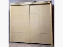 [8成新] 二手.簡約風.七尺.滑門衣櫃衣櫃/衣櫥有輕微破損
