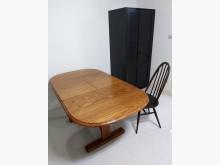 [9成新] 【大安區自取】 實木伸縮餐桌其它家具無破損有使用痕跡