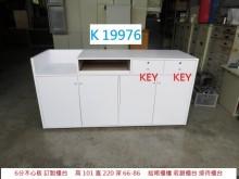 [8成新] K19976 櫃台 收銀櫃檯其它櫥櫃有輕微破損