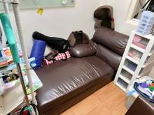 [8成新] 貴妃椅沙發贈送躺椅有輕微破損