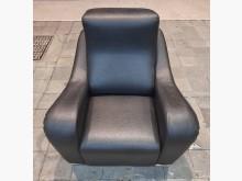 [8成新] 單人座皮沙發單人沙發有輕微破損