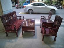 [9成新] 實木!!! 仿古沙發桌椅組其它沙發無破損有使用痕跡