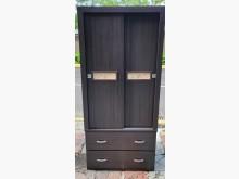 [95成新] 三合二手物流(胡桃單人衣櫃)衣櫃/衣櫥近乎全新