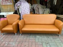 [9成新] 1+2+3皮沙發多件沙發組無破損有使用痕跡