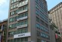 大樓外觀,9樓整層皆為碩哲商務