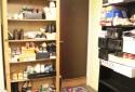 各自獨立的置鞋空間、整潔的木質地