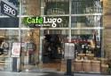 一樓的知名Lugo咖啡館