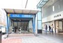 忠孝敦化捷運站2號出口旁