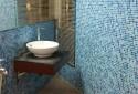 馬賽克磁磚點綴廁所的舒適感、搭配