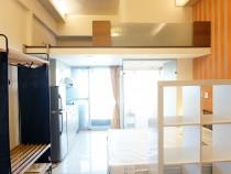 台北租屋,中山租屋,獨立套房出租,近捷運有陽台大面景觀,通風採光浴廁家具齊