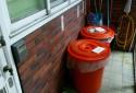 每週三次專人清潔公共區域及倒垃圾