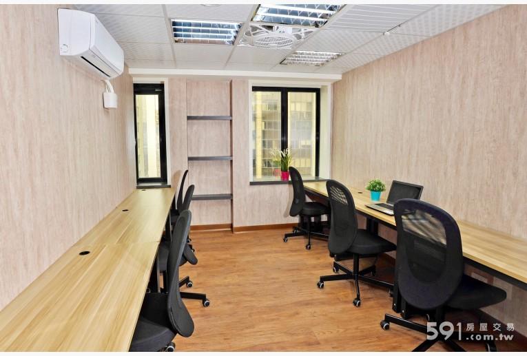 台北租屋,中山租屋,辦公出租,6人靠窗大辦公室