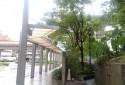 木柵捷運站旁風雨橋