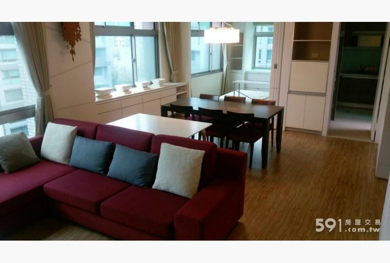 台北租屋,內湖租屋,整層住家出租,1樓客廳另一視角