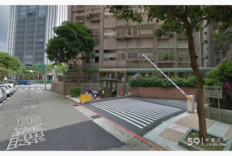台北租屋,文山租屋,車位出租,平面坡道車位 入口處24h警衛管