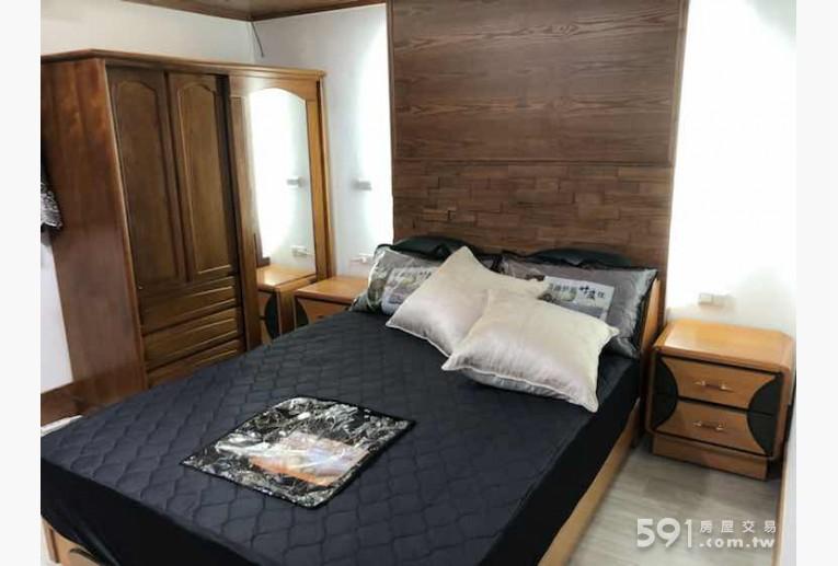 台北租屋,大安租屋,分租套房出租,舒眠彈簧雙人床