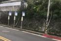 岩山里一的公車站牌 距離250步