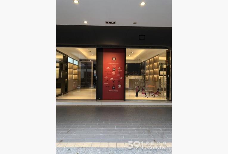 台北租屋,大安租屋,店面出租,高級強化玻璃電動門