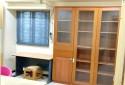 書房大書櫃獨立冷氣系統,採光好