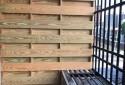 松木隔間獨立陽台
