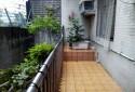 後院綠意盎然 空間大