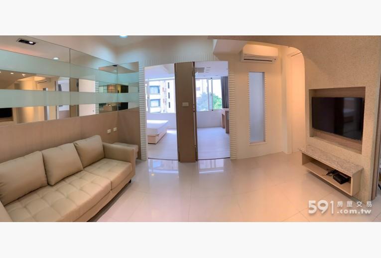 台北租屋,大安租屋,整層住家出租,客廳 全新大金變頻冷暖