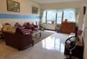 歐式沙發 寬敞客廳 直眺鯉魚潭