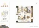 東區-中華路二段3房2廳,43.9坪